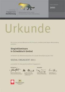 Urkunde LEA 2011