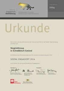 LEA-Urkunde 2014